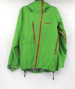 Norrona men's M Lofoten Gore-tex full zip jacket anorak green freeriding ski
