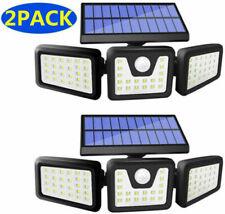 2Pack Solar Lights Motion Sensor, Security 6000Lm Waterproof Adjustable head
