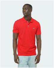 Lacoste 4012240 rouge Polo for man short sleeve slim fit red - Rouge