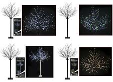 400 LED 240CM PRE LIT ELEGANT BLOSSOM XMAS CHRISTMAS TREE
