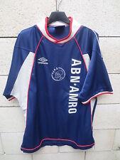 VINTAGE Maillot AJAX AMSTERDAM 1999 2000 UMBRO away shirt trikot maglia L