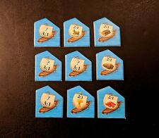 Settlers of Catan 5th Edition - Replacement Port Tokens - Brand New!