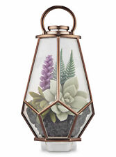 Bath and Body Works Succulent Plant Terrarium Lantern Wallflowers Fragrance Plug