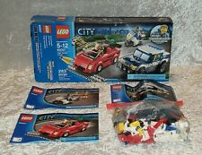 LEGO City High Speed Chase (60007) Complete Set with Box and Manuals