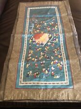 "Stunning Chinese Silk Hand Embroidered  LARGE 25"" PANEL ONE HUNDRED 100 CHILDREN"