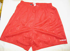 Erima Pantaloncini Rosso Dimensioni D 8/xl con slip interno poliestere NUOVO (k1)