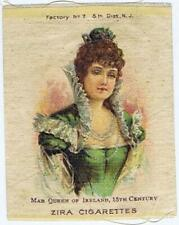 Zira Cigarettes S75 Famous Queens Mab Queen of Ireland cigarette silk 361