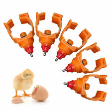 50pcs Automatic Poultry Water Nipple Safe Drinker Chicken Duck Hen Pigeon Feeder
