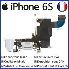 IPHONE 6S - NAPPE DOCK CONNECTEUR DE CHARGE BLANC + MICRO + PRISE JACK + ANTENNE
