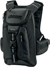 Icon Racing Squad 3 Backpack Black Back Pack 3517-0282
