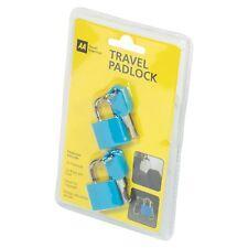 AA Travel Padlock pack of 2