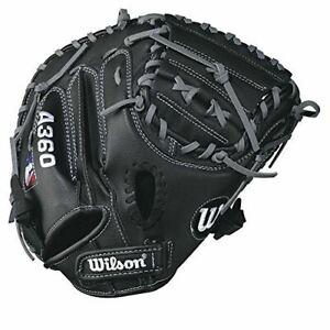 """Wilson A360 32.5"""" Youth Baseball Catcher's Mitt (Right Hand Throw)"""
