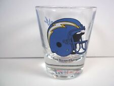 San Diego Chargers helmet logo shot glass