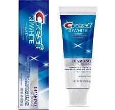 Crest 3D White Luxe Diamond Strong Whitening Fluoride Toothpaste MINT 136g UK