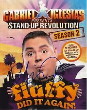 Comedian Gabriel Iglesias Autographed 8x10 Photo (Reproduction)