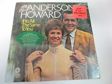 "BILL ANDERSON JAN HOWARD IF IT'S ALL THE SAME TO YOU 12"" SEALED VINYL LP RECORD"