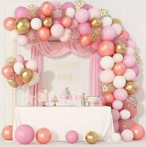 GARLAND 144 PCS BALLOON ARCH WEDDING BIRTHDAY BABY SHOWER CONFETTI PARTY KIT UK