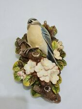 More details for legend products chalkware blue tit ornament bird hanging figure (like bossons) 1