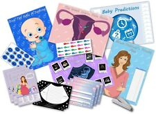 Baby Shower Party Games  /  6 GAMES  /  BOY/BLUE  -  up to 20 players