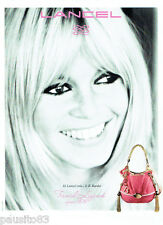 PUBLICITE ADVERTISING 056  2011  le  sac Lancel B.B & Brigitte Bardot *