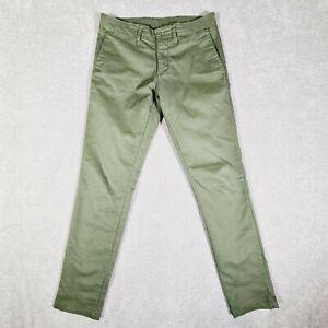 CARHARTT Khaki Green Casual Chino Pants Size W30 x L32