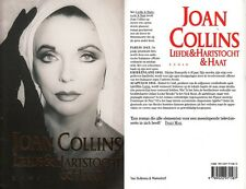 JOAN COLLINS - DUTCH Hard Back Edition LOVE & DESIRE & HATE SIGNED TO PAUL C#77