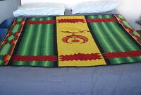 Pendleton Shriner Blanket Camp Freemason 58x74 Queen Full Wool 1920s For Charity