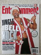 Entertainment Weekly Magazine December 8, 2017 Jingle Bell Rock Dwayne Johnson