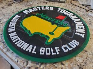 Masters Tournament 3D art sign new Golf club golfing Woods course LPGA PGA TOUR