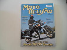MOTOCICLISMO D'EPOCA 5/2009 MORINI 350 K2/BULTACO ALPINA/DUCATI SD 900/REG 250