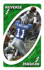RARE-0DDBALL UN0-GREEN Roy Williams COWBOYS LIONS Texas LONGHORNS