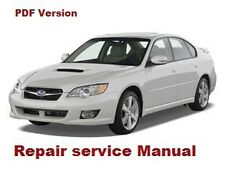 SUBARU LEGACY 2004- 2009 FACTORY SERVICE REPAIR MANUAL + ELECTRIC DIAGRAM PDF