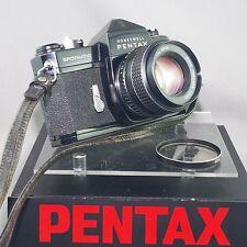 Pentax Spotmatic Black SERVICED by ERIC  HENDRICKSON with SMC TAkumar 55mm f2
