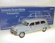 Brooklin models csv.24, 1954 Weller-DeSoto Combination, Grey, Stationwagon 1/43