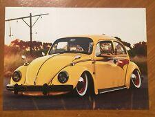 Tin Sign Vintage VW beetle 3