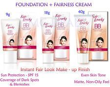Fair & Lovely BB Instant Fair Look Make-up Finish Foundation + Fairness Cream