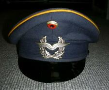 VTG 1979 Officers German Military Lufthansa Peaked Blue Hat BAMBERGER Sz.