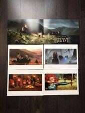 NEW 2012 DISNEY PIXAR BRAVE SET OF (4) 11 x14 LTD. ED. LITHOGRAPHS.