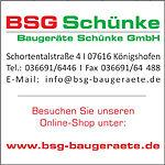 BSG Baugeräte Schünke GmbH