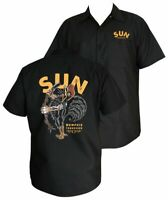 RockSteadyClothing Sun Records Singing Rooster Workshirt Rockabilly Hemd