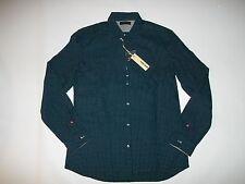 DIESEL Navy Blue GIAMMA Long Sleeve Button Down Cotton SHIRT mens Sz XL rt $125