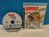 Rapala: Fishing Frenzy 2009 (Sony PlayStation 3, 2008) Tested & Working