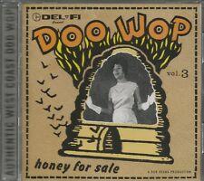 DEL FI DOO WOP - CD - Honey For Sale - Vol. 3 - BRAND NEW