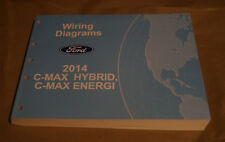 2014 Ford C-Max Hybrid, Energi EVTM Wiring Diagrams Service Manual Book SF-5147