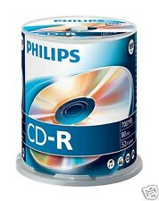 Philips Cd-r 700 52x Speed Spindel 100