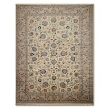 9 10 X 14 2 Rare Romanian Kashan Hand Knotted Wool Persian