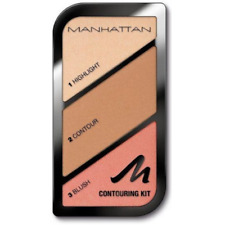 MANHATTAN BLUSHER AND CONTOURING KIT #002 SUMMER IN BARBADOS 3 SHADES