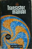 TRANSISTOR MANUAL 7TH EDITION. 1964 ELECTRONICS HAM RADIO VINTAGE BOOK RARE