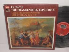 SLS 866 JS Bach The Brandenburg Concertos London Philharmonic Sir Adrian Boult