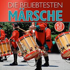 CD Die beliebtesten Märsche von Diverse Interpreten 4CDs